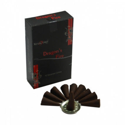 Dragon's Fire Incense Cones