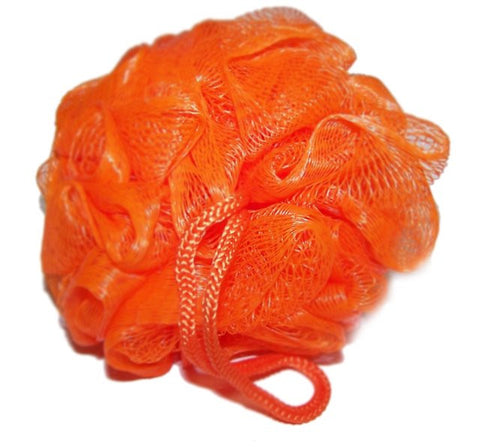 Bright Orange Scrunchie