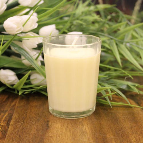 1x Pack of 4 Soybean Votive Candles - Citronella