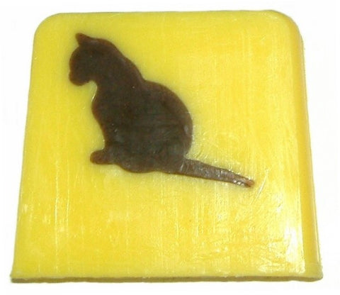 Black Cat Soap - 115g Slice (vanilla)