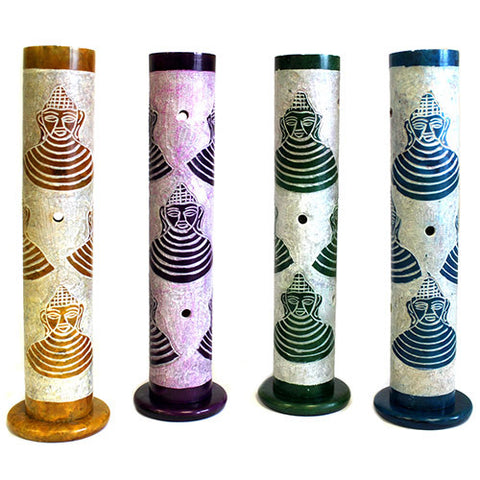 Incense Buddah Tube- 4 Assorted Colours