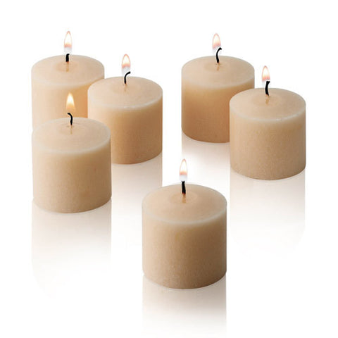 1x pack of 12 Scented Votive Candles - Vanilla