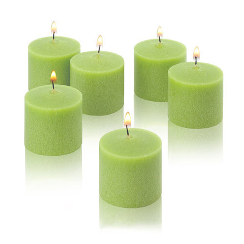 1x pack of 12 Scented Votive Candles - Apple