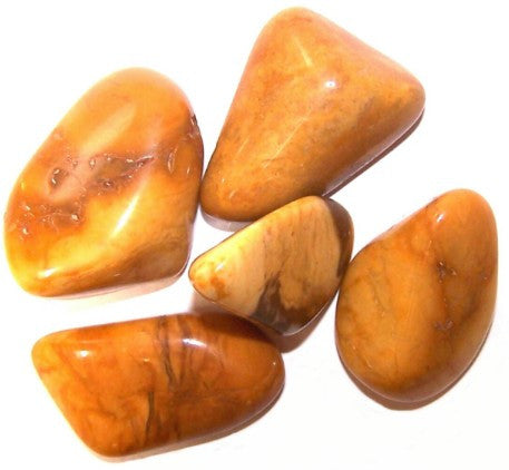 Yellow Jasper Stone Large Tumble Stones