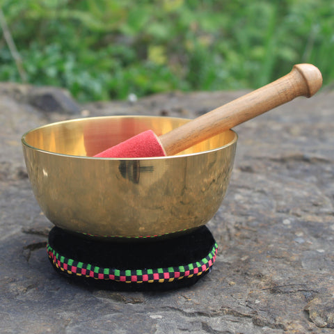 10cm Brass Singing Bowl Set