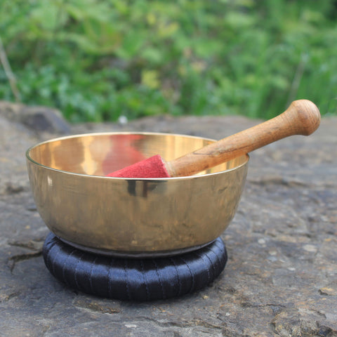 14cm Brass Singing Bowl Set