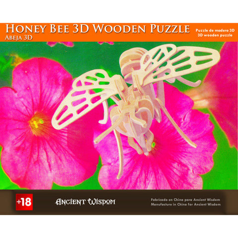 Honey Bee - 3D Wooden Puzzle