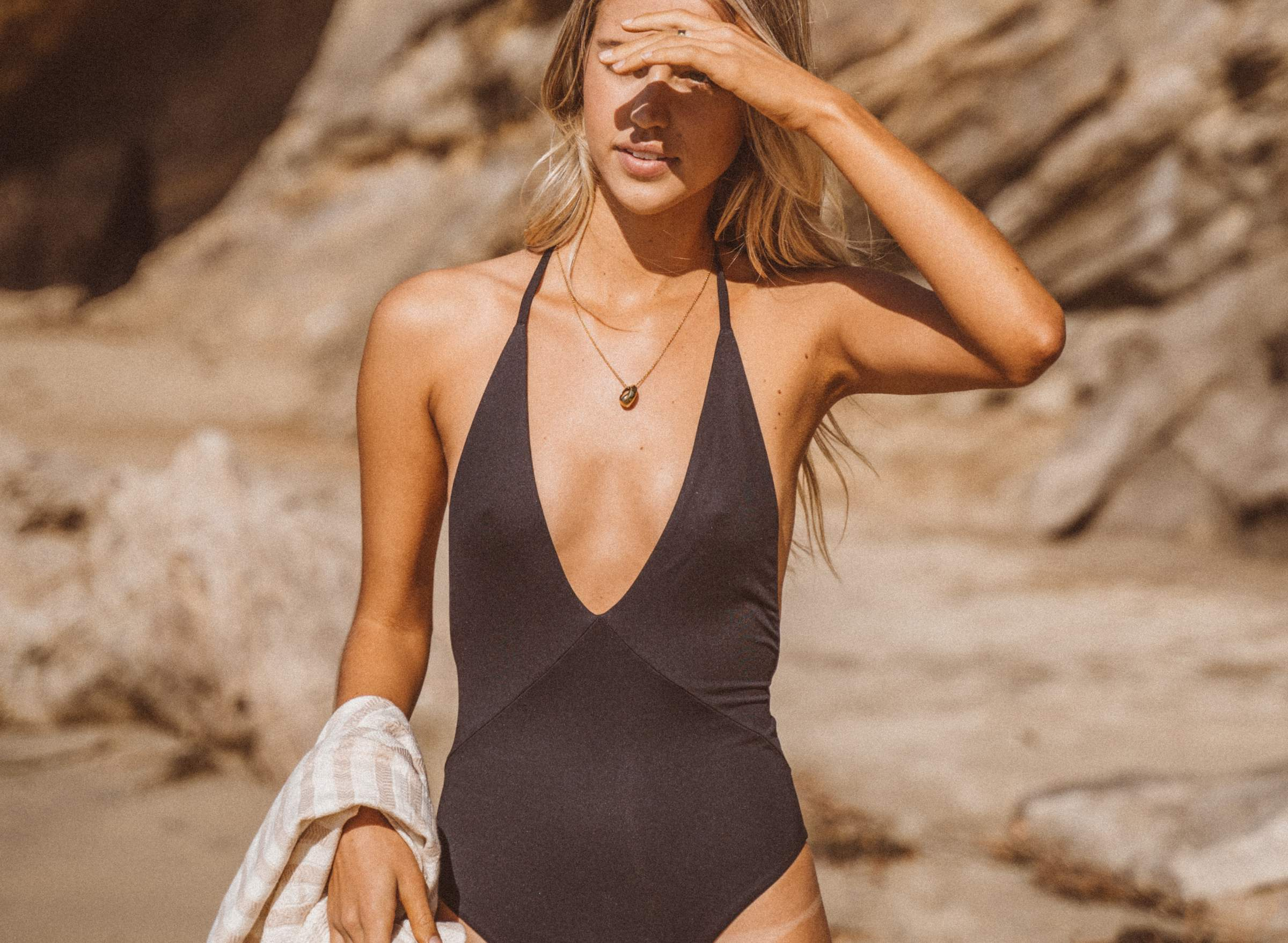 Hills One-Piece in Black
