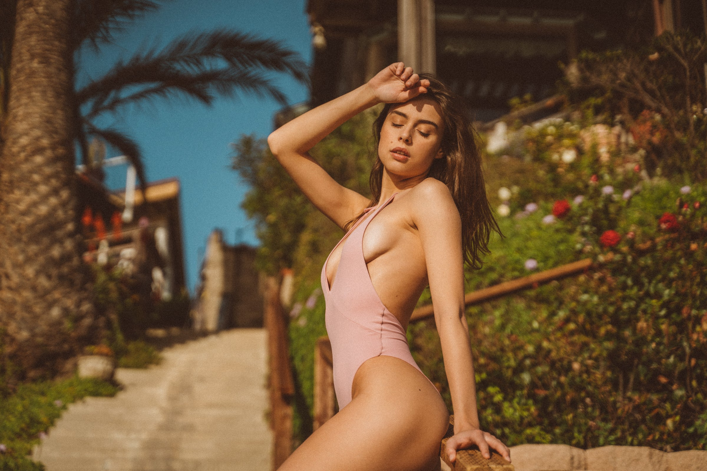 Hills One-Piece in Blush