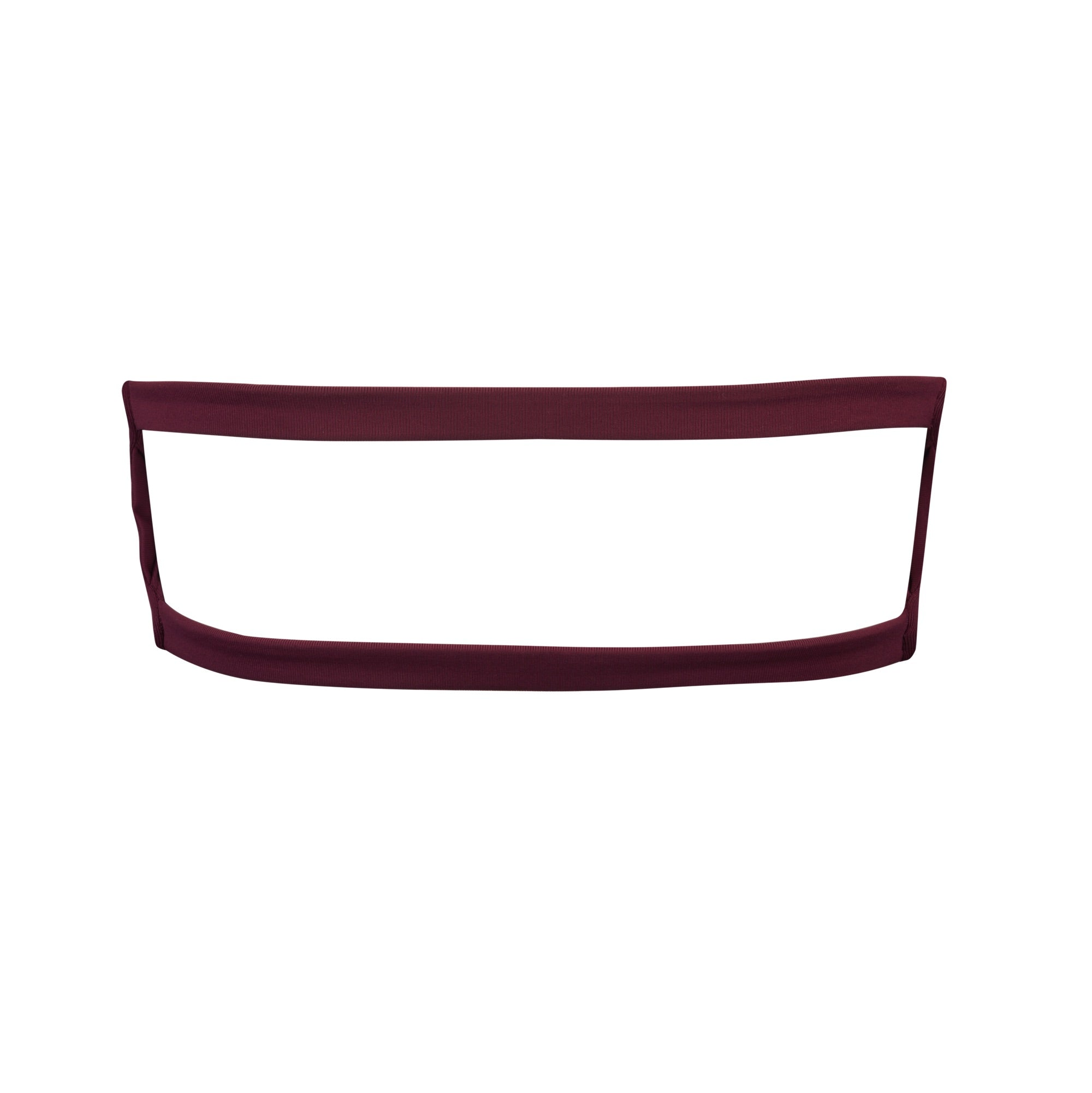 Bellini Bikini Top in Maroon by Tuhkana Swimwear