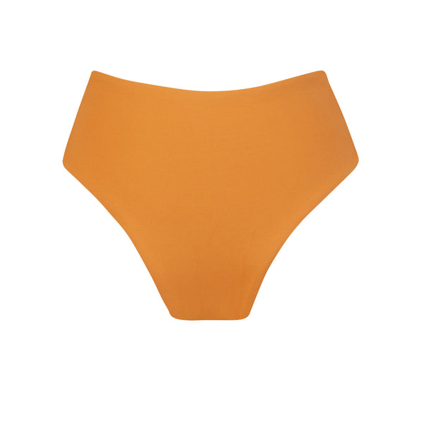 Grove Bikini Bottom in Pumpkin by Tuhkana Swimwear