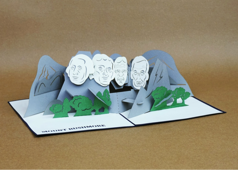 Our Custom Design - Mount Rushmore