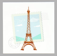 Eiffel Tower Quilling Card