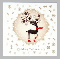 Reindeer Quilling Card
