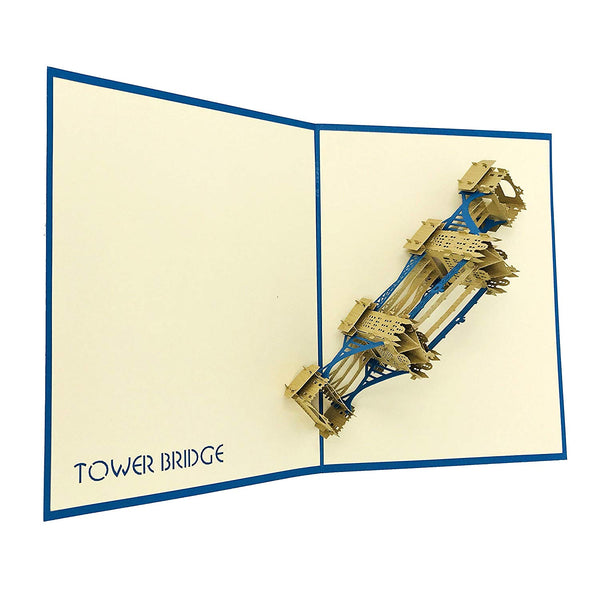 London Tower Bridge - WOW 3D Pop Up Card