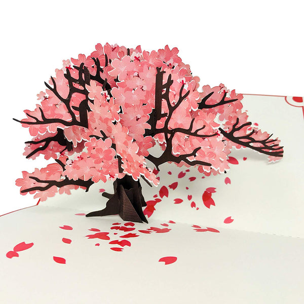 Cherry Blossom Tree - Color Pop Up Card