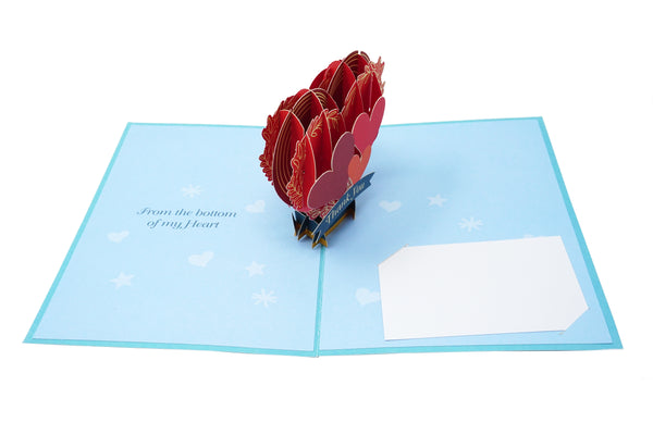 A Big Thank You - 3D Pop Up Greeting Card - For Friends, Family, Teachers, Neighbors, Co-Workers, Boss, Front-line, Essential Workers