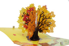 Autumn Maple Tree - WOW 3D Pop Up Card
