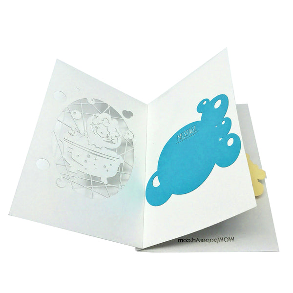 Baby Shower - WOW 3D Pop Up Card