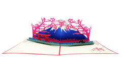 Fuji Mountain - WOW 3D Pop Up Greeting Card