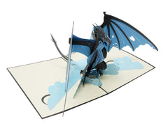 Ice Dragon - WOW 3D Pop Up Card