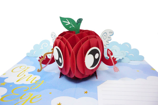 Apple of my eye - WOW 3D Pop Up Greeting Card