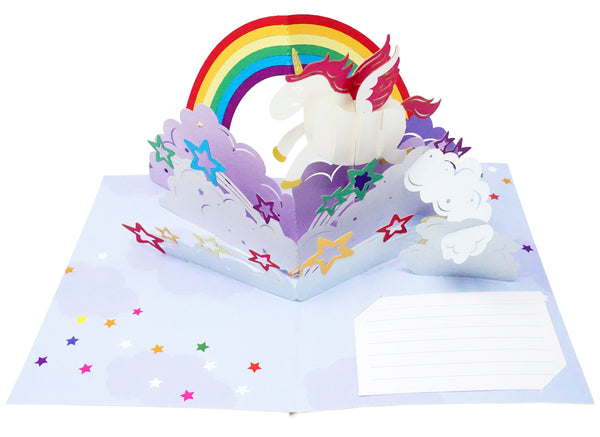 Be a Unicorn - WOW 3D Pop Up Greeting Card