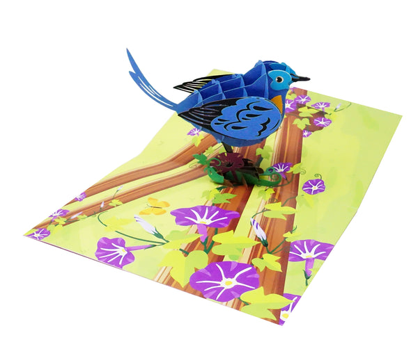 Eastern Bluebird - WOW 3D Pop Up Greeting Card