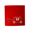 Horse Carriage - WOW 3D Pop Up Greeting Card