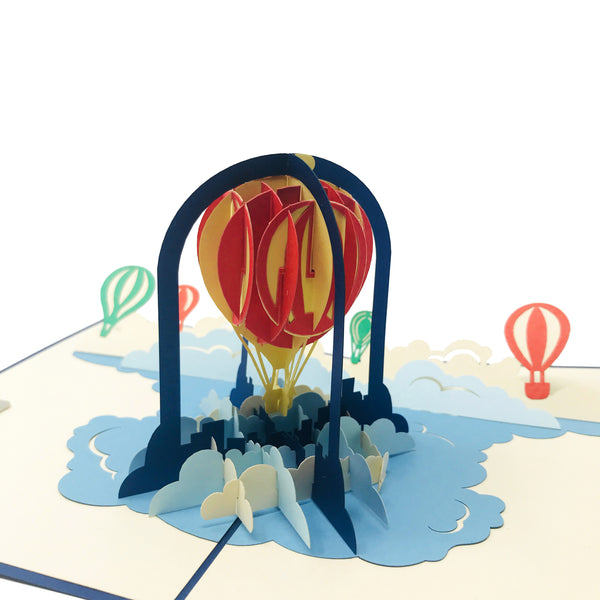 Hot Air Balloon - WOW 3D Pop Up Card