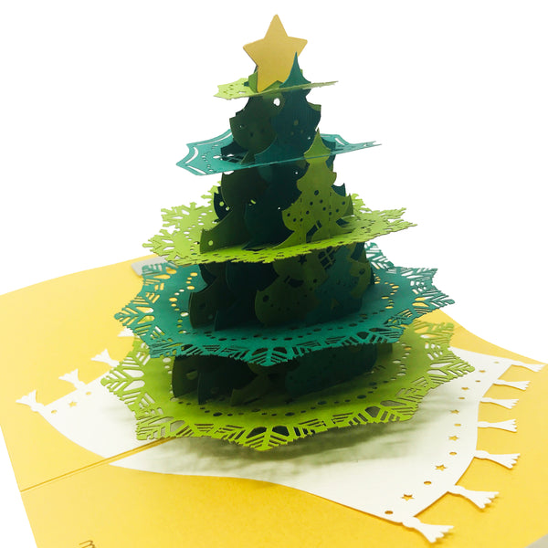 Big Christmas Tree - Christmas Pop Up Card