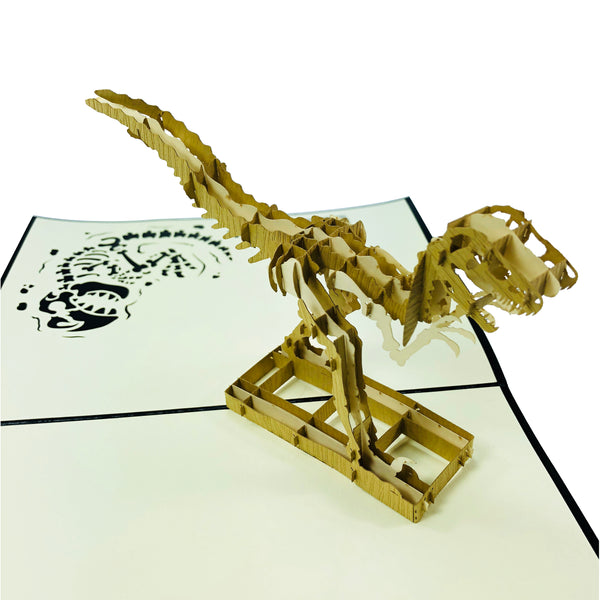 T-Rex Dinosaur - 3D Pop Up Card
