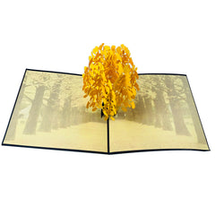 Ginkgo Biloba | Maidenhair Tree - WOW 3D Pop Up Card