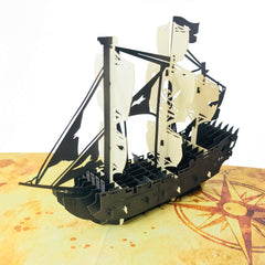 The Pirate Ship - WOW 3D Pop Up Card