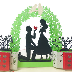 In Love Couple - WOW 3D Pop Up Card