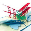 Classic Airplane - WOW 3D Pop Up Card
