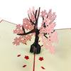 Pink Small Cherry Tree - WOW 3D Pop Up Card