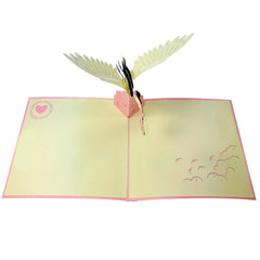 Baby and Stork (Pink) - WOW 3D Pop Up Card