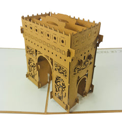 Arc De Triomphe - WOW 3D Pop Up Card