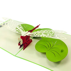 Dragon Fly - WOW 3D Pop Up Card