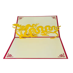 Asian Dragon - WOW 3D Pop Up Card