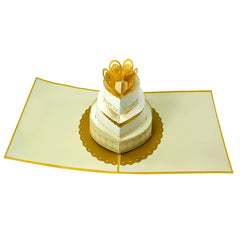 Wedding Cake - WOW 3D Pop Up Card