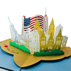 I Love New York City - WOW 3D Pop Up Card