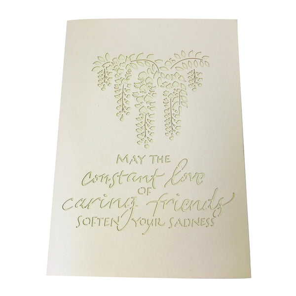 Wisteria Sympathy - WOW 3D Pop Up Card