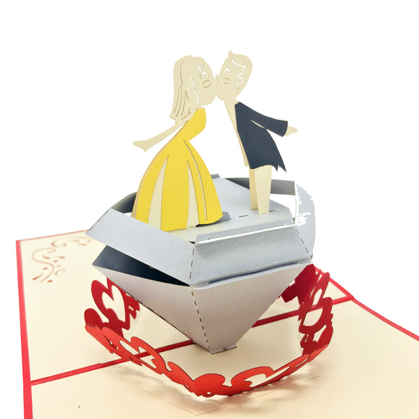 Diamond Couple - WOW 3D Pop Up Card