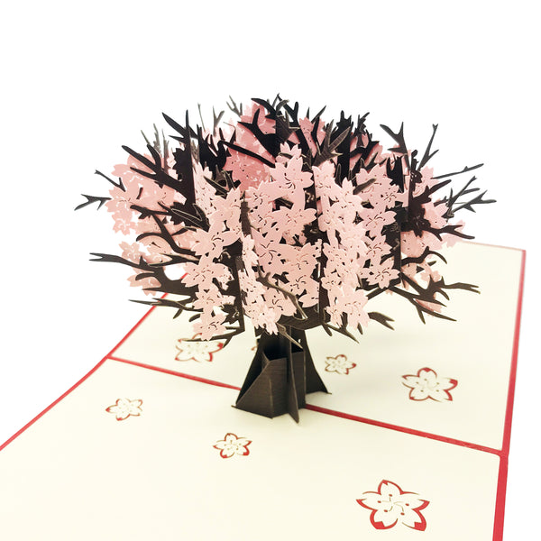 Cherry Blossom - WOW 3D Pop Up Card