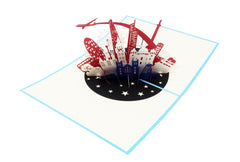 London Skyline - WOW 3D Pop Up Greeting Card