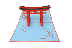 Miyajima Gate - WOW 3D Pop Up Greeting Card