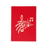 Music Orchestra - WOW 3D Pop Up Greeting Card