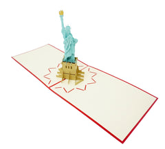 Statue Of Liberty - WOW 3D Pop Up Card